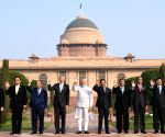 PM Modi with the ASEAN Heads