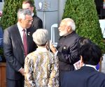 Hamburg (Germany): Modi with Leaders' of G-20 Nations