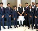 PM Modi meets the medal winners of 18th Asian Games