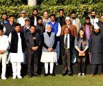Newly elected Sarpanches of Panchayats from J&K meet PM Modi