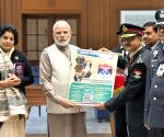 PM Modi meets Kendriya Sainik Board officers