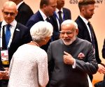 Hamburg (Germany): Modi with Leaders' of G-20 Nations
