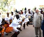 Kampala (Uganda): PM Modi accorded Ceremonial Reception