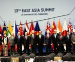 13th East Asia Summit Plenary Session