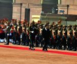 Prime Minister Narendra Modi receives Prime Minister of Cambodia, Hun Sen