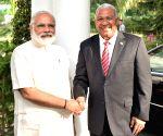 Fiji PM calls on Modi