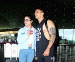 :  Prince Narula Spotted At Airport Departure in Mumbai