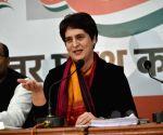 Priyanka Gandhi questions govt over Trump's visit