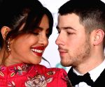 Priyanka, Nick go 'red and black' on BAFTA  red carpet
