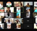 Free Photo: Priyanka's virtual meeting with UP leaders