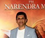 "Film ""PM Narendra Modi"" success party - Indra Kumar, Anand Pandit, Omung Kumar"