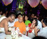 Janmashtami celebrations - Celebrities at ISKCON temple
