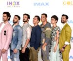 "IMAX trailer and poster launch of film ""Gold"" - Ritesh Sidhwani, Akshay Kumar, Mouni Roy, Vineet Kumar Singh, Amit Sadh, Kunal Kapoor, Sunny Kaushal"