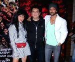 """Wrap-up party of  film """"Super 30"""" - Sajid Nadiadwala, Wardha Nadiadwala and Hrithik Roshan"""