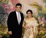 Sonam Kapoor and Anand Ahuja's wedding reception - Siddharth Roy Kapur and Vidya Balan