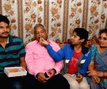 Balaram Kishan rescued from Libya return's home
