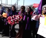 Women stage protest in Kabul against Taliban policies