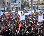 Hundreds of Syrian protesters demand offensive end