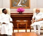 Puducherry CM meets PM Modi