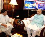Kiran Bedi meets Home Minister Amit Shah