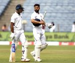 Skipper Kohli pushes Agarwal on to score double ton