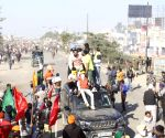Free Photo: Punjab and Haryana Farmer protests march against farmer bill  Haryana to Delhi at Sindu Border