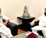 Punjab CM Amarinder meets Home Minister Rajnath