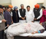 Punjab CM Amarinder meets Nirankari Bhawan grenade attack victims