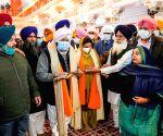 (3o1120) Kapurthala: Captain Amarinder Singh visits Sultanpur Lodhi on Guru Nanak Jayanti
