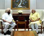 Amarinder Singh calls on Modi