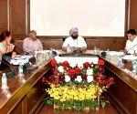 Review meeting - Punjab CM Amarinder