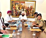 Punjab CM meets police officials