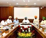 Cabinet meeting - Punjab CM Amarinder Singh