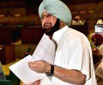 Punjab CM Amarinder Singh at Vidhan Sabha