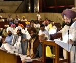 Amarinder Singh addresses at Punjab assembly