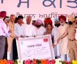 Punjab CM at rally to present debt waiver cheques to farmers