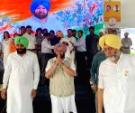 Captain Amarinder Singh at a public rally
