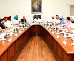 Punjab CM chairs cabinet meeting