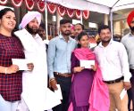 Amarinder Singh during 73rd Independence Day celebrations in Punjab