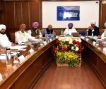 Punjab CM during a cabinet meeting