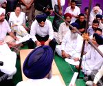Punjab CM during Sangat Darshan program