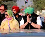 Amarinder Singh's road show