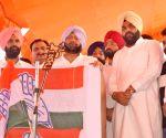 Congress rally - Amarinder Singh