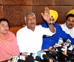 Sunil Jakhar's press conference