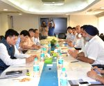 Punjab Deputy CM calls on Piyush Goyal