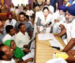 Punjab Dy CM during a programme