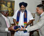 Punjab Dy. CM meets Benjamin Dagadu