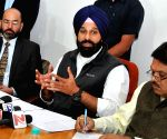 Bikram Singh Majithia's press conference