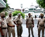 Police Officials secures a Mosque