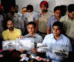 Punjab police arrest two alleged terrorists
